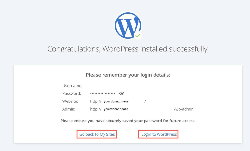 How to launch a WordPress website in Bluehost in 5 minutes